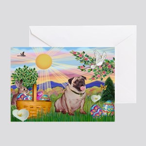 Easter Pug Greeting Cards (Pk of 10)