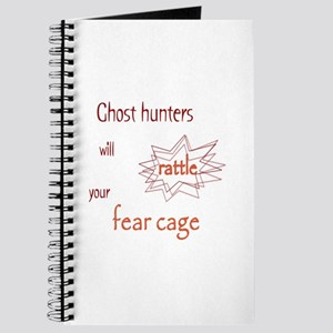 Ghost Hunters Rattle Fear Cages Journal