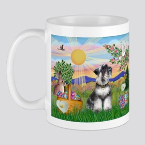 Easter Schnauzer Mug