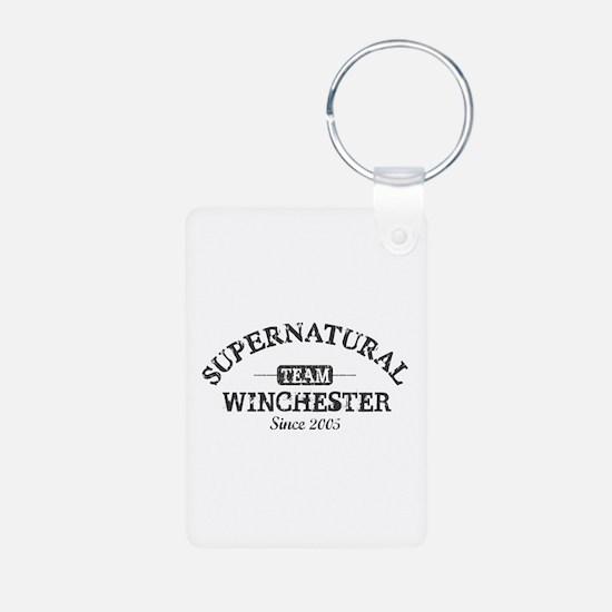 SUPERNATURAL Team Winchester gray Keychains