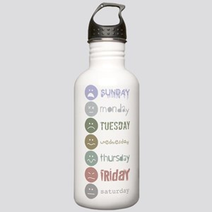 Fonts of the Week Stainless Water Bottle 1.0L