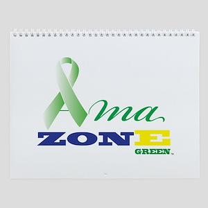 Wall Calendar Ama Zone Green