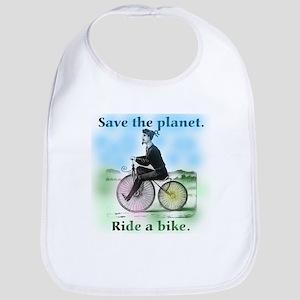 Save the Planet Ride a Bike Bib