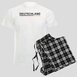 Soccer DEUTSCHLAND Stripe Men's Light Pajamas