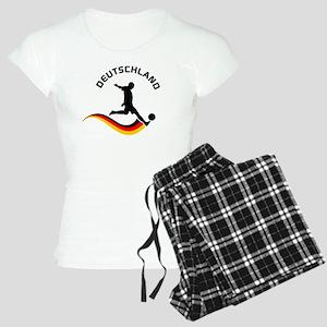 Soccer DEUTSCHLAND Player Women's Light Pajamas