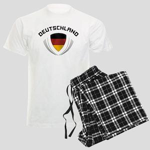 Soccer Crest DEUTSCHLAND Men's Light Pajamas
