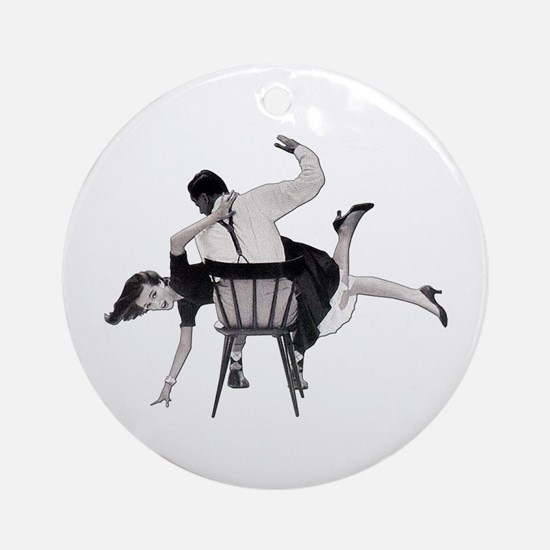 Tap That Ornament (Round)