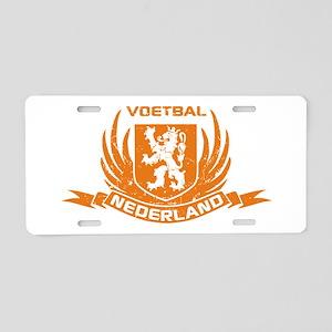 Voetbal Nederland Cres Aluminum License Plate
