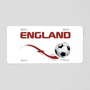 Soccer ENGLAND Aluminum License Plate