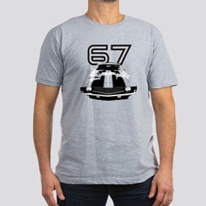 1967 Camaro Men's Fitted T-Shirt (dark)