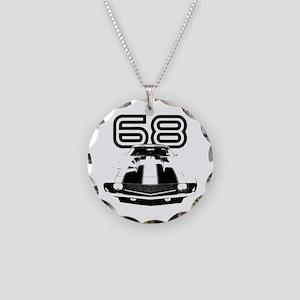 1968 Camaro Necklace Circle Charm