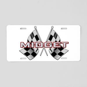 MG Midget Aluminum License Plate