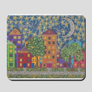 Moon Over Grace Street Mousepad
