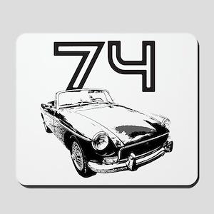 1974 MG Midget Mousepad