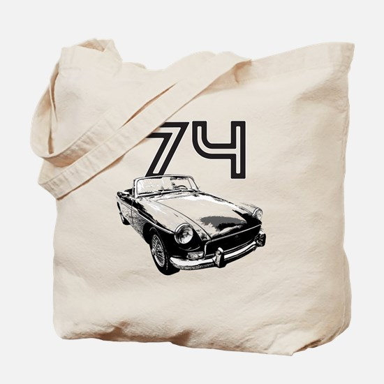 1974 MG Midget Tote Bag
