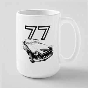 1977 MG Midget Large Mug