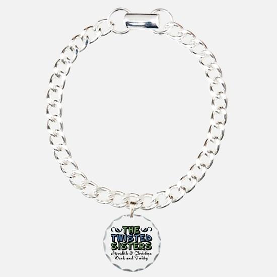 Twisted Sisters Charm Bracelet, One Charm