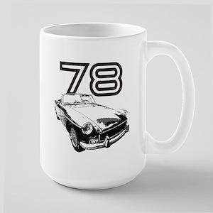 1978 MG Midget Large Mug