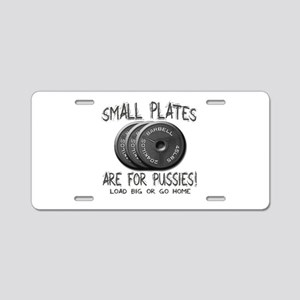Small plates... Aluminum License Plate