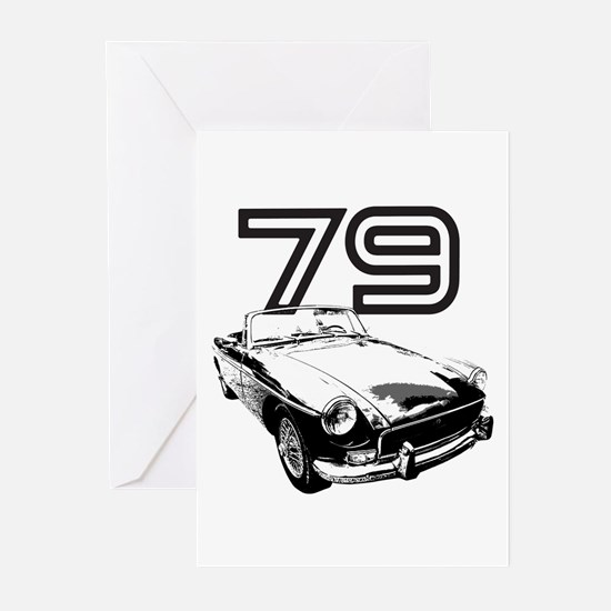 1979 MG Midget Greeting Cards (Pk of 20)