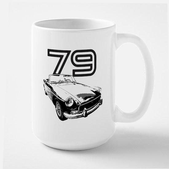 1979 MG Midget Large Mug