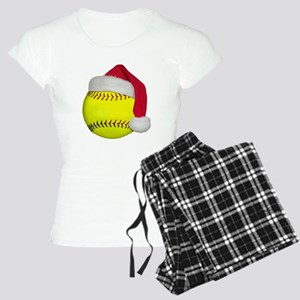Softball Santa Women's Light Pajamas