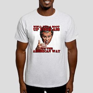 The American Way Ash Grey T-Shirt