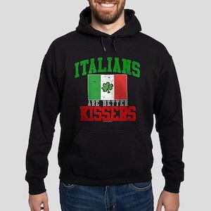 Italians Are Better Kissers Hoodie (dark)