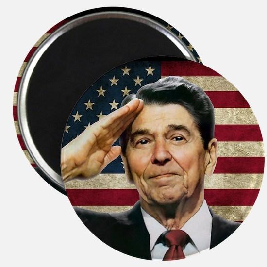 """Reagan Salute... 2.25"""" Magnet (10 pack)"""