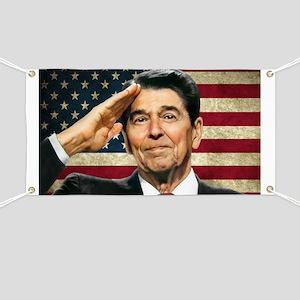 Reagan Flag... Banner