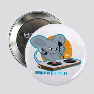 "Mouse in the House 2.25"" Button"