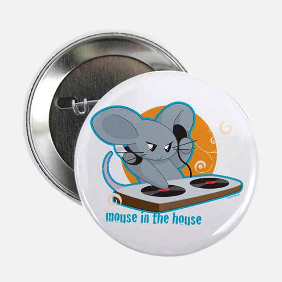 """Mouse in the House 2.25"""" Button"""