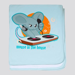 Mouse in the House baby blanket