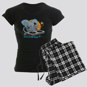 Mouse in the House Women's Dark Pajamas
