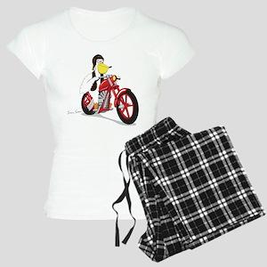 Pelican Biker Women's Light Pajamas