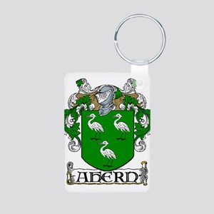 Ahern Coat of Arms Aluminum Photo Keychain