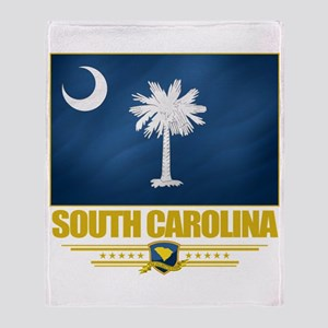 South Carolina Pride Throw Blanket