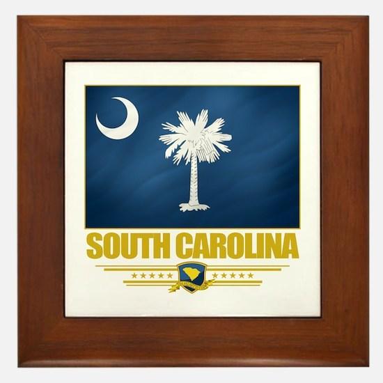 South Carolina Pride Framed Tile