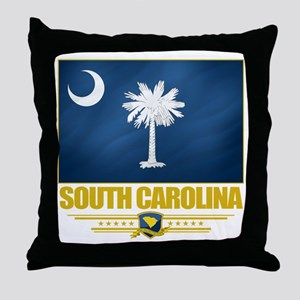 South Carolina Pride Throw Pillow