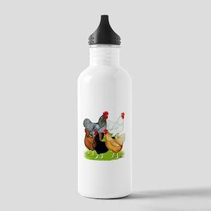 Sex-link Chicken Quintet Stainless Water Bottle 1.