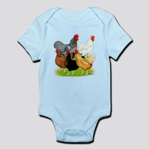 Sex-link Chicken Quintet Infant Bodysuit