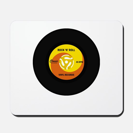 45 RPM Rock n Roll Record Mousepad