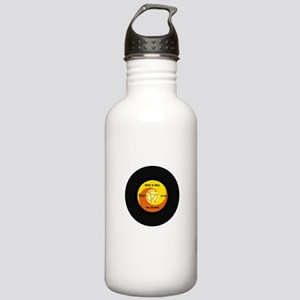 45 RPM Rock n Roll Record Stainless Water Bottle 1