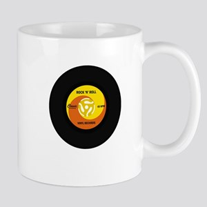 45 RPM Rock n Roll Record Mug