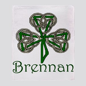 Brennan Shamrock Throw Blanket