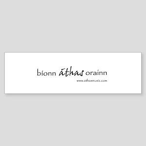 athas Bumper Sticker