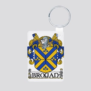 Brogan Coat of Arms Aluminum Photo Keychain
