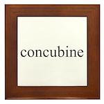 Concubine Framed Tile