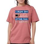 I Run on Goats! Womens Comfort Colors® Shirt