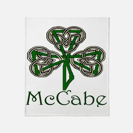 McCabe Shamrock Throw Blanket